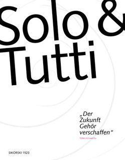 Solo & Tutti von Matchin,  Boris, Sikorski,  Axel, Templeton,  Amadeus