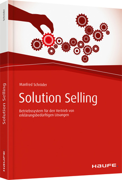 Solution Selling von Schröder,  Manfred