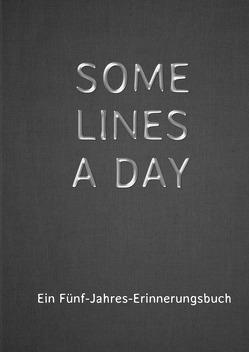 SOME LINES A DAY – Ein Fünf-Jahres-Erinnerungsbuch von Cooper,  Alexondra, Hill,  Alex