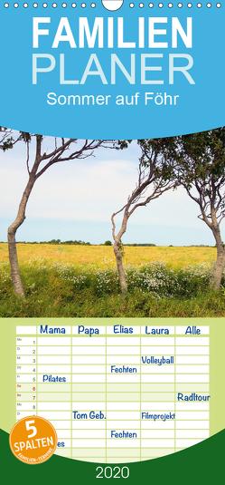 Sommer auf Föhr – Familienplaner hoch (Wandkalender 2020 , 21 cm x 45 cm, hoch) von Bergenthal,  Jürgen