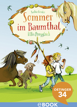 Sommer im Baumthal. Ellis Ponyglück von Fahrnländer,  Beate, Geisler,  Saskia