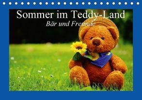 Sommer im Teddy-Land. Bär und Freunde (Tischkalender 2018 DIN A5 quer) von Stanzer,  Elisabeth