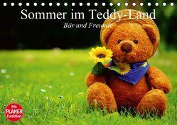 Sommer im Teddy-Land. Bär und Freunde (Tischkalender 2019 DIN A5 quer) von Stanzer,  Elisabeth