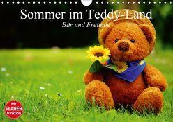 Sommer im Teddy-Land. Bär und Freunde (Wandkalender 2019 DIN A4 quer) von Stanzer,  Elisabeth