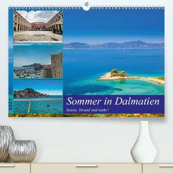 Sommer in Dalmatien – Sonne, Strand und mehr! (Premium, hochwertiger DIN A2 Wandkalender 2021, Kunstdruck in Hochglanz) von Sobottka,  Joerg
