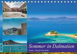 Sommer in Dalmatien – Sonne, Strand und mehr! (Tischkalender 2018 DIN A5 quer) von Sobottka,  Joerg