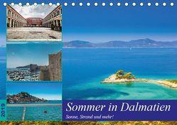 Sommer in Dalmatien – Sonne, Strand und mehr! (Tischkalender 2019 DIN A5 quer) von Sobottka,  Joerg