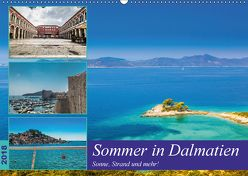 Sommer in Dalmatien – Sonne, Strand und mehr! (Wandkalender 2018 DIN A2 quer) von Sobottka,  Joerg