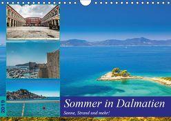 Sommer in Dalmatien – Sonne, Strand und mehr! (Wandkalender 2019 DIN A4 quer) von Sobottka,  Joerg