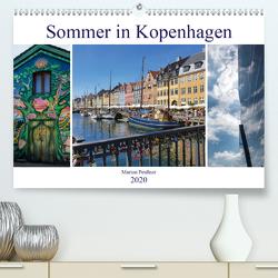Sommer in Kopenhagen (Premium, hochwertiger DIN A2 Wandkalender 2020, Kunstdruck in Hochglanz) von Peußner,  Marion