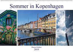 Sommer in Kopenhagen (Wandkalender 2019 DIN A2 quer) von Peußner,  Marion