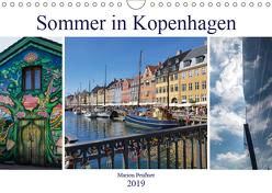 Sommer in Kopenhagen (Wandkalender 2019 DIN A4 quer) von Peußner,  Marion