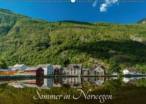 Sommer in Norwegen (Wandkalender 2018 DIN A2 quer) von photography,  romanburri