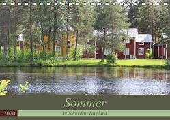 Sommer in Schwedens Lappland (Tischkalender 2020 DIN A5 quer) von Flori0