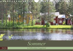 Sommer in Schwedens Lappland (Wandkalender 2020 DIN A4 quer) von Flori0