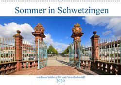 Sommer in Schwetzingen von Karin Vahlberg Ruf und Petrus Bodenstaff (Wandkalender 2020 DIN A2 quer) von Bodenstaff Karin Vahlberg Ruf,  Petrus