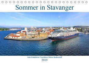 Sommer in Stavanger vom Frankfurter Taxifahrer Petrus Bodenstaff (Tischkalender 2019 DIN A5 quer) von Bodenstaff,  Petrus, Valberg,  Karin