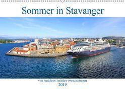 Sommer in Stavanger vom Frankfurter Taxifahrer Petrus Bodenstaff (Wandkalender 2019 DIN A2 quer) von Bodenstaff,  Petrus, Valberg,  Karin