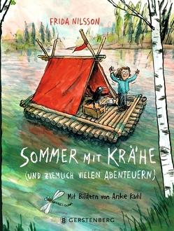 Sommer mit Krähe von Buchinger,  Friederike, Kuhl,  Anke, Nilsson,  Frida
