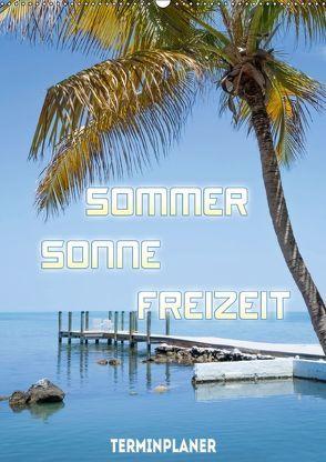 Sommer, Sonne, Freizeit / Terminplaner (Wandkalender 2018 DIN A2 hoch) von Viola,  Melanie