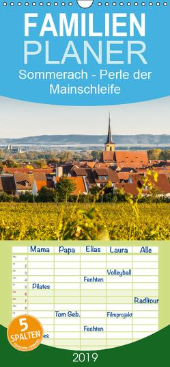 Sommerach – Perle der Mainschleife – Familienplaner hoch (Wandkalender 2019 , 21 cm x 45 cm, hoch) von Blome,  Dietmar