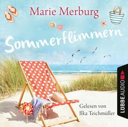 Sommerflimmern von Merburg,  Marie, Teichmüller,  Ilka