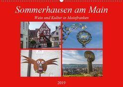 Sommerhausen am Main (Wandkalender 2019 DIN A2 quer) von Will,  Hans