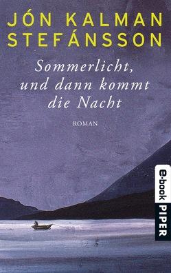 Sommerlicht, und dann kommt die Nacht von Stefánsson,  Jón Kalman, Wetzig,  Karl-Ludwig
