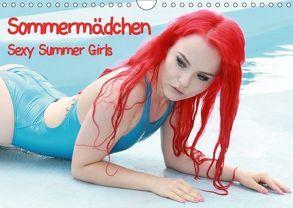 Sommermädchen – Sexy Summer Girls (Wandkalender 2018 DIN A4 quer) von Bulls,  Andy