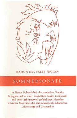 Sommersonate von de Vries,  Regina, del Valle-Inclán,  Ramón María, von Uslar,  Gerda