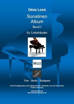Sonatinen Album Band I für Linkshänder