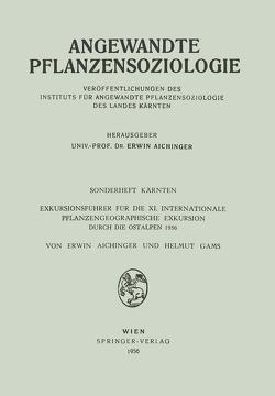 Sonderheft Kärnten von Aichinger,  Erwin, Gams,  Helmut