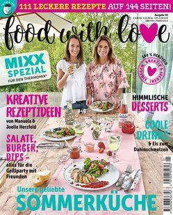 Sonderheft MIXX: Food with Love von Herzfeld,  Joelle, Herzfeld,  Manuela