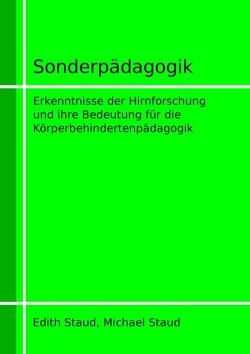 Sonderpädagogik von Staud,  Edith, Staud,  Michael