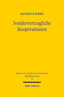 Sondervertragliche Kooperationen von Rathke,  Hannes