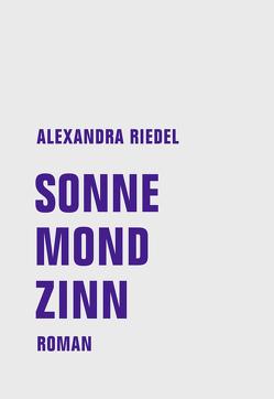 Sonne, Mond, Zinn von Riedel,  Alexandra