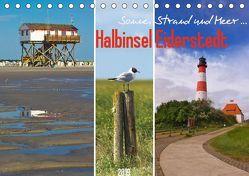 Sonne, Strand und Meer … Halbinsel Eiderstedt (Tischkalender 2019 DIN A5 quer) von DESIGN Photo + PhotoArt,  AD, Dölling,  Angela