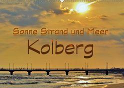 Sonne Strand und Meer in Kolberg (Wandkalender 2019 DIN A2 quer) von Michalzik,  Paul