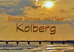 Sonne Strand und Meer in Kolberg (Wandkalender 2020 DIN A2 quer) von Michalzik,  Paul