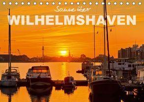 Sonne über Wilhelmshaven (Tischkalender 2018 DIN A5 quer) von www.geniusstrand.de,  ©