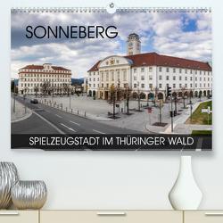 Sonneberg – Spielzeugstadt im Thüringer Wald (Premium, hochwertiger DIN A2 Wandkalender 2020, Kunstdruck in Hochglanz) von Thoermer,  Val
