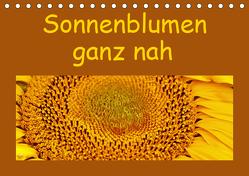 Sonnenblumen – ganz nah (Tischkalender 2019 DIN A5 quer) von Vorndran,  Hans-Georg