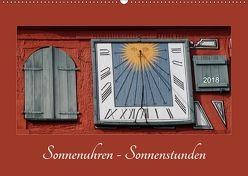 Sonnenuhren – Sonnenstunden (Wandkalender 2018 DIN A2 quer) von Keller,  Angelika