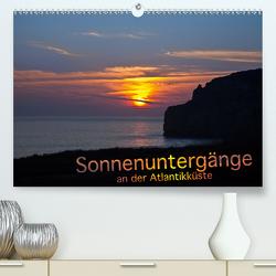 Sonnenuntergänge an der Atlantikküste (Premium, hochwertiger DIN A2 Wandkalender 2020, Kunstdruck in Hochglanz) von Benoît,  Etienne