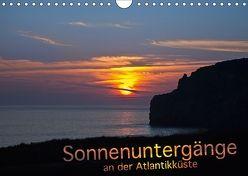 Sonnenuntergänge an der Atlantikküste (Wandkalender 2018 DIN A4 quer) von Benoît,  Etienne