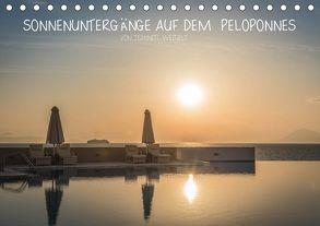 Sonnenuntergänge auf dem Peloponnes (Tischkalender 2018 DIN A5 quer) von Weigelt,  Jeannette