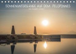 Sonnenuntergänge auf dem Peloponnes (Tischkalender 2019 DIN A5 quer) von Weigelt,  Jeannette
