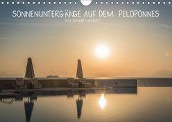 Sonnenuntergänge auf dem Peloponnes (Wandkalender 2019 DIN A4 quer) von Weigelt,  Jeannette