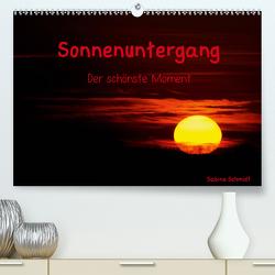 Sonnenuntergang (Premium, hochwertiger DIN A2 Wandkalender 2021, Kunstdruck in Hochglanz) von Schmidt,  Sabine