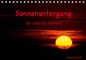 Sonnenuntergang (Tischkalender 2021 DIN A5 quer) von Schmidt,  Sabine